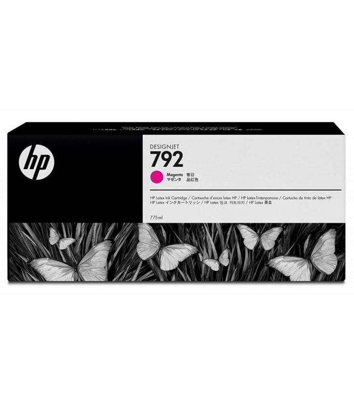 Acheter Cartouche d'encre HP 792 Magenta Latex - 775-ml (CN707A) - Casablanca Maroc