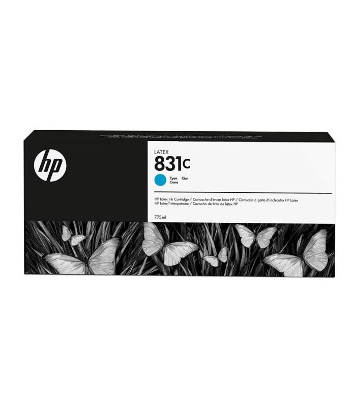 Acheter Cartouche d'encre HP 831C Light Cyan Latex - 775-ml (CZ698A) - Casablanca Maroc